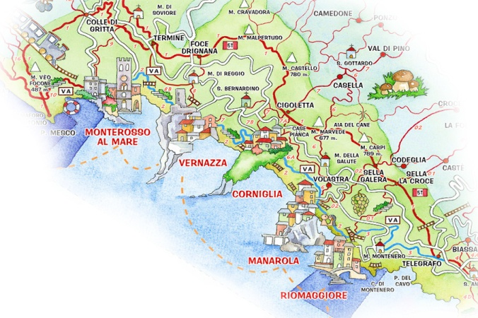 Cinque-Terre-National-Park-Map-of-Trails